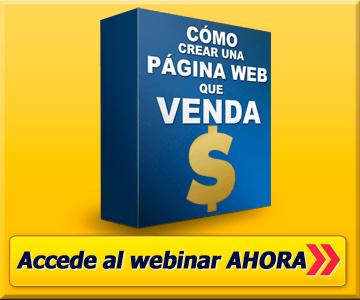 webinar como crear una pagina web que venda