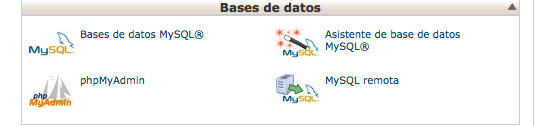 como instalar wordpress - bases de datos