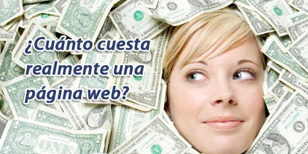 cuanto cuesta una web